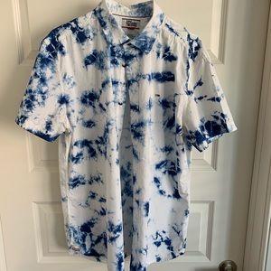 Tommy Hilfiger Stonewashed Denim Shirt Size XL